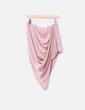 Falda asimétrica rosa Asos