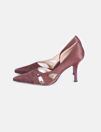 Zapatos de fiesta marrón JK Doop