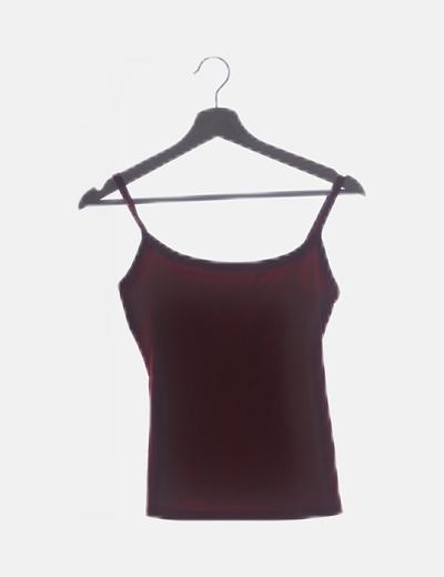 Camiseta roja lisa