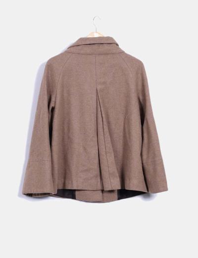 Zara 81 descuento Abrigo Camel Micolet Capa Tipo awqSax1r