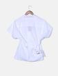 Camisa blanca manga corta Adolfo Dominguez