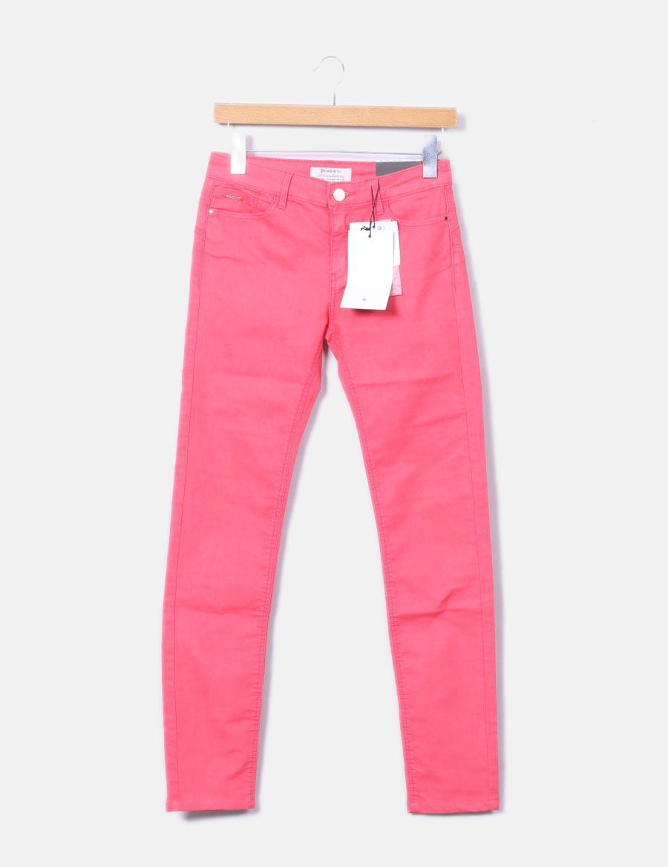 c8f8e6ce8cb Baratos 8qxwfz8 Up Coral Stradivarius Push Pantalones Mujer Pantalón  xY0Bqw5x