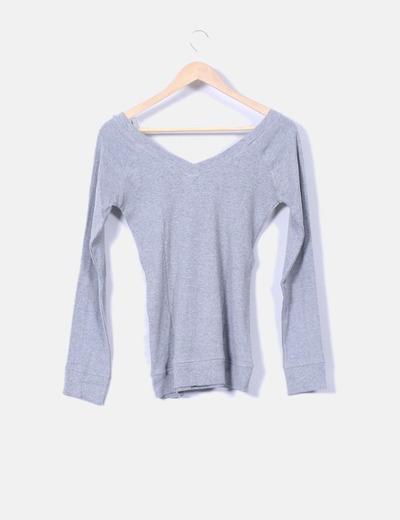 Jersey tricot gris escot v
