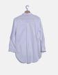 Camisa blanca abotonada Zara