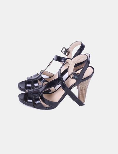Sandales noires Unisa