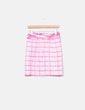 Conjunto de top y falda texturizada Charo Azcona