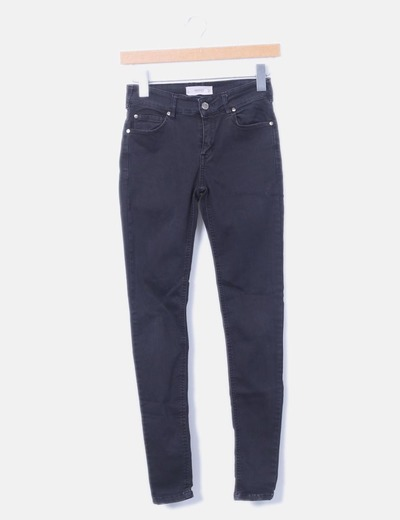 Pantalón pitillo azul marino