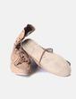 Bota camel con cordones detalle flecos  Zara