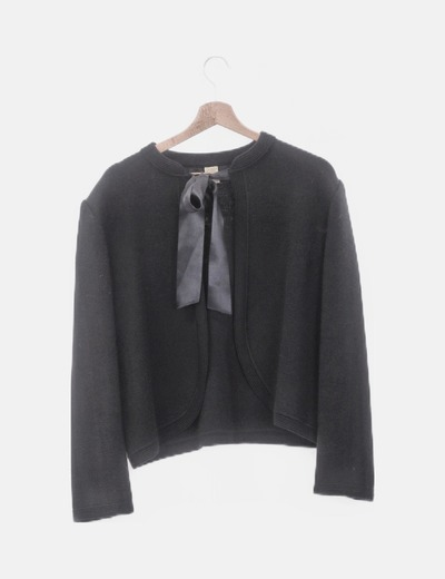 Jersey de punto negro