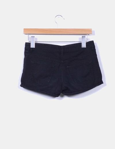 Shorts denim negro