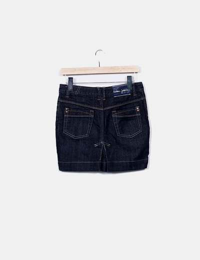 Falda mini vaquer