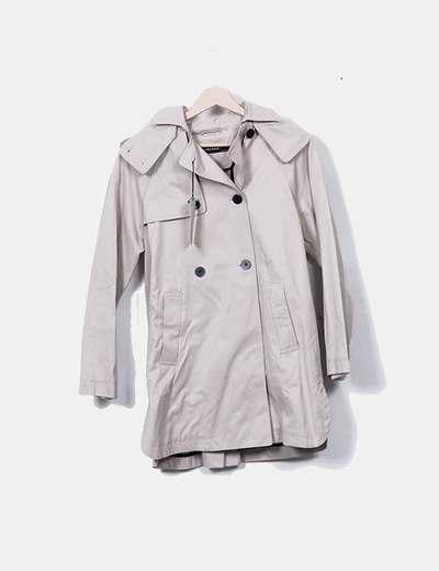 efb2dca15dd Zara Trench beige (descuento 24%) - Micolet