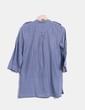 Blusa azul estampada Pull&Bear
