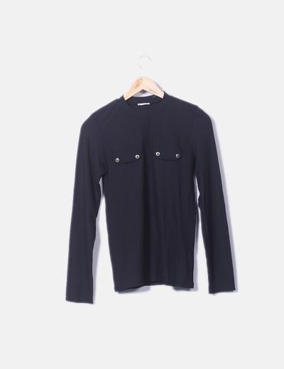 Camiseta licra canale negro