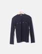 Camiseta licra canale negro Zara