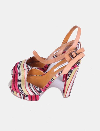 Zapato de tacón con plataforma Carven