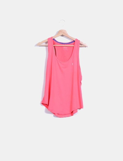 Top deportivo color coral Primark
