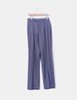 Pantalón gris de pinzas Zara
