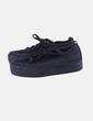 Chaussures noires de sport à lacets Lefties