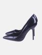 Zapato de tacón negro Zara