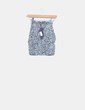 Mini falda ajustada print animal Motel