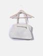Bolso blanco texturizado Misako