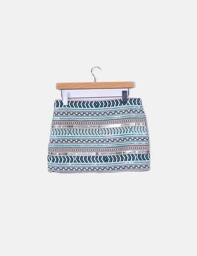 1aae564d8 Mini falda joya étnica
