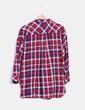 Camisa de cuadros combinada Zara