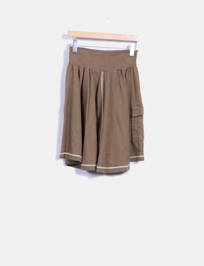 Falda verde Venca