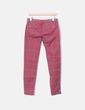 Jeans denim pitillo cuadros rojos Pull&Bear