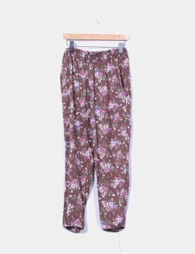 Pantalón fluido floral NoName