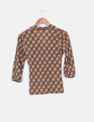 Camiseta geometrica