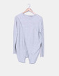 Pull gris tricot Asos