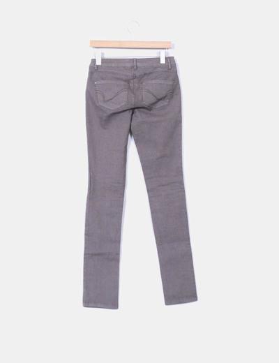 Jeans pitillo verde