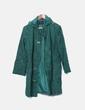 Abrigo de pana verde Vero Moda