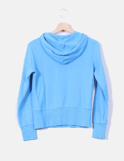 Sudadera Adidas Azul Flúor Print Verde mnO80wNv