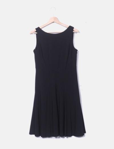 Vestido licra fluido negro