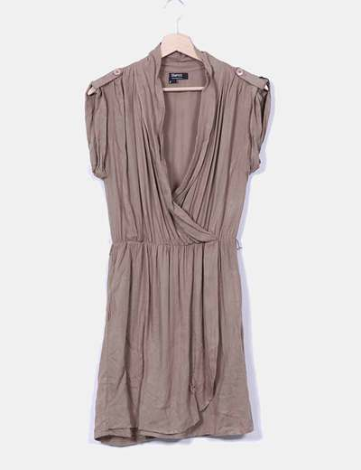 Vestido marrón Suiteblanco