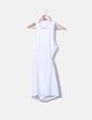 Robe blanche avec motif dos NoName