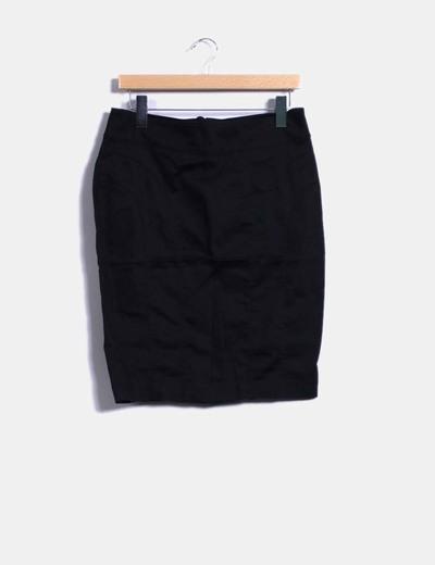 H M Falda negra tubo (descuento 96%) - Micolet f48c0ad6035