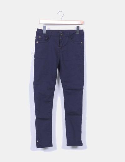 Pantalón pitillo azul marino Elogy