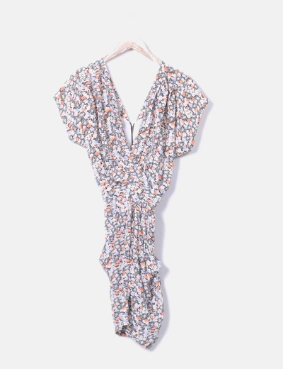 Vestido floral con bolsillos Whistles
