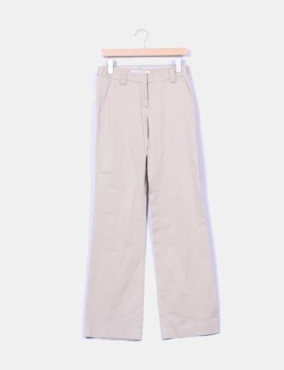 Pantalón chino beige Zara