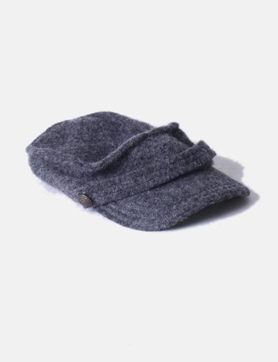 Gorro gris de lana jaspeado Sfera