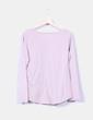 Camiseta rosa estampada detalle tachas  NoName