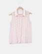 Blusa combinada crochet Zara