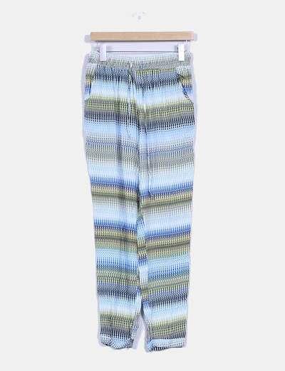 Pantalón suelto estampado  NoName