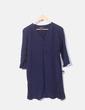 Vestido azul de gasa Primark