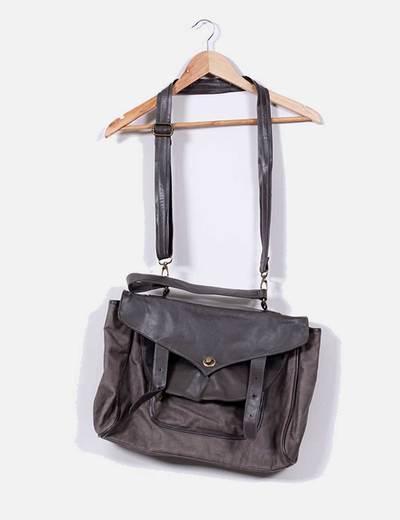 Bolso satchels gris  Amichi