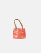 Bolso double handle naranja Tous